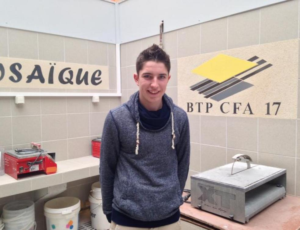 Ma vie d'Apprenti : Alix se forme au CFA de Saintes