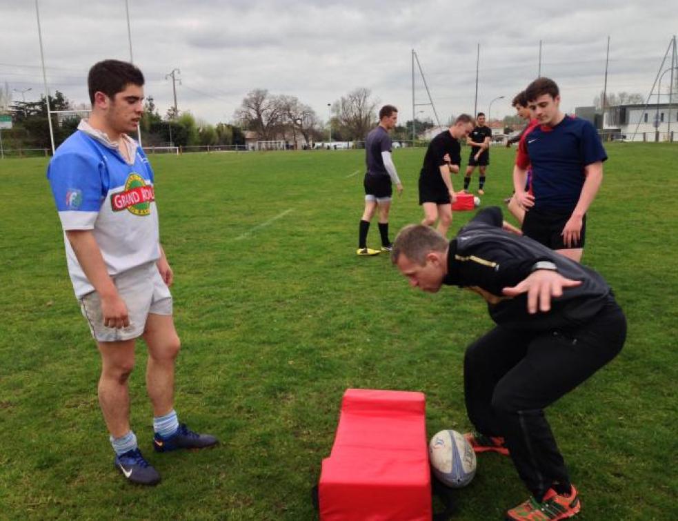Ma vie d'Apprenti : Vincent vit sa passion rugby (2/2)