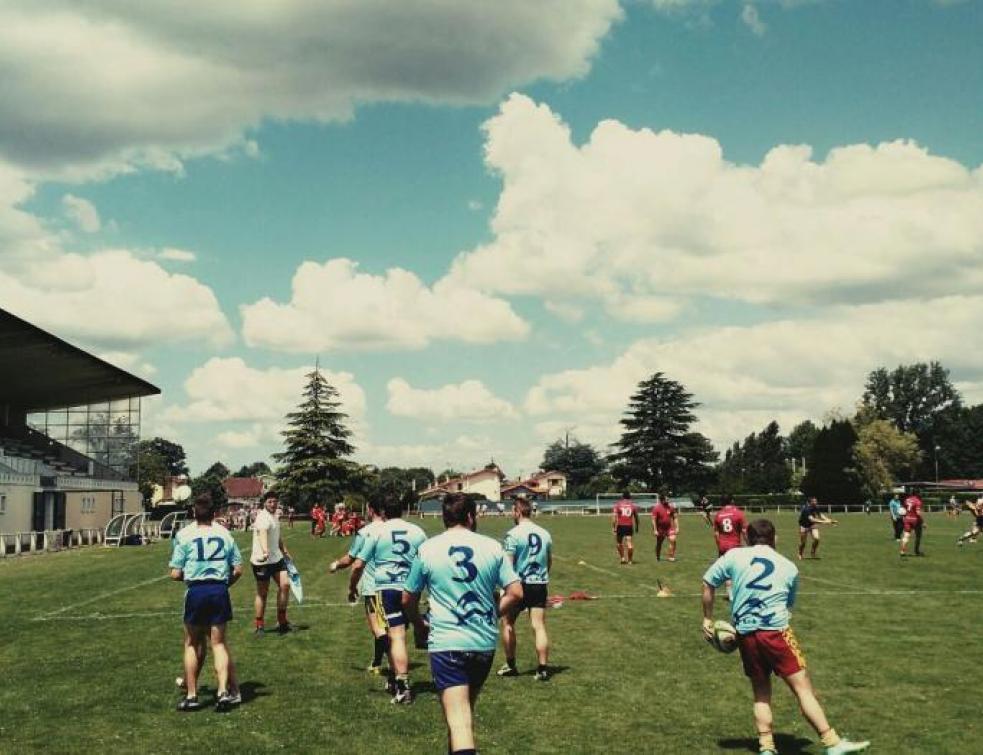 Ma vie d'Apprenti : Vincent en tournoi de rugby des apprentis