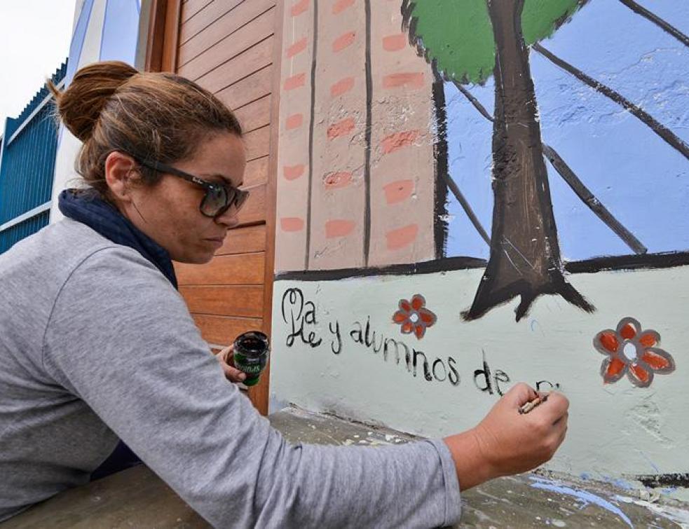 Une peinture qui absorbe la pollution