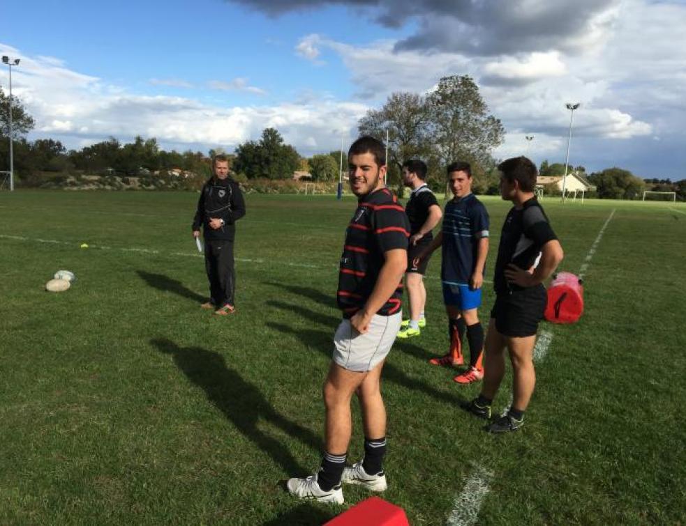 Ma vie d'Apprenti : Vincent reprend le rugby au CFA