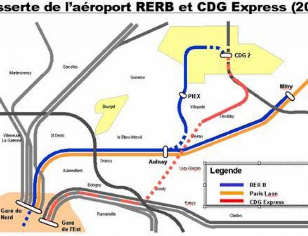Desserte ferroviaire de Roissy : CDG Express sur les rails
