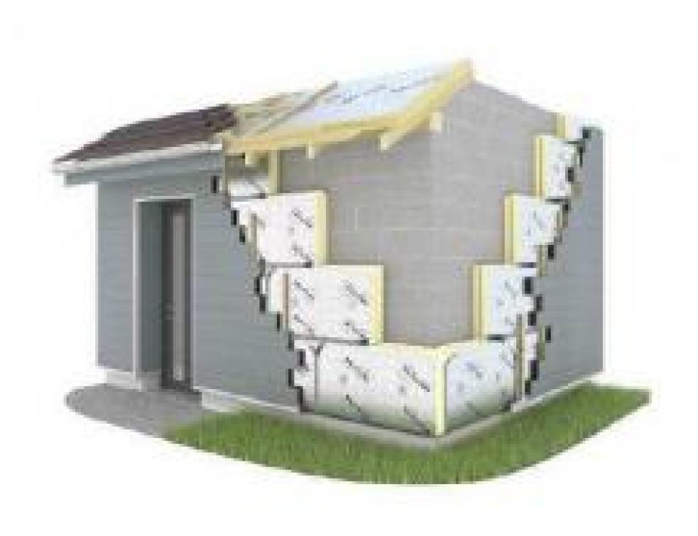 nouveau panneau d 39 isolation thermique eurowall. Black Bedroom Furniture Sets. Home Design Ideas