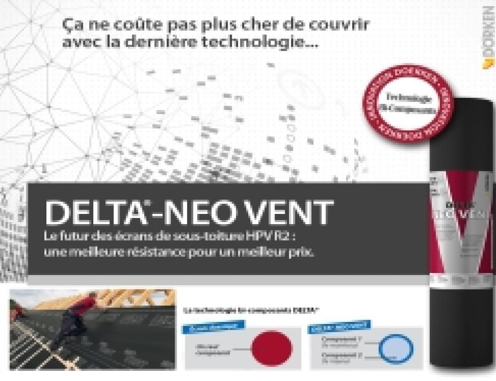 DELTA-NEO VENT : le futur des écrans de sous-toiture HPV R2