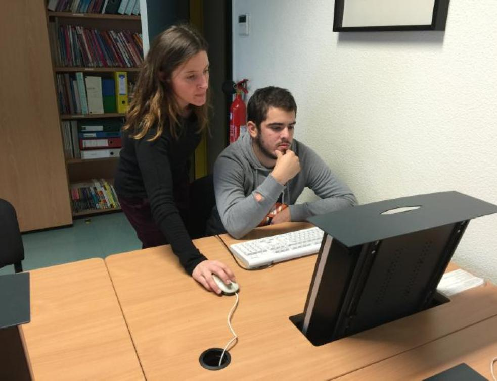 Ma vie d'Apprenti : Vincent prépare son rapport d'activité