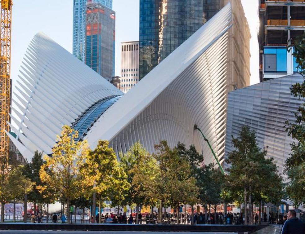 New-York: l'Oculus de Calatrava est enfin ouvert au public