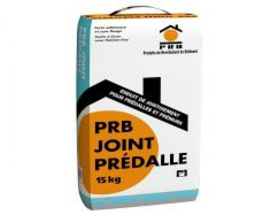 PRB étend sa gamme maçonnerie en lançant un nouveau produit : PRB JOINT PRÉDALLE