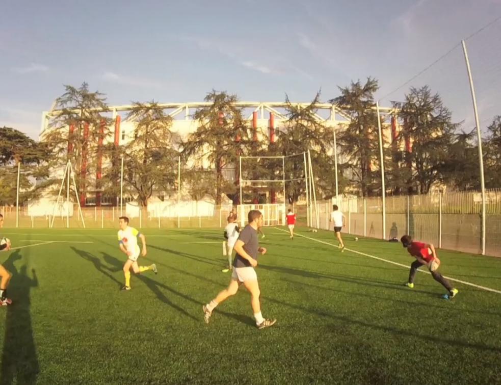 Ma vie d'Apprenti : Vincent s'entraîne au rugby à Bayonne