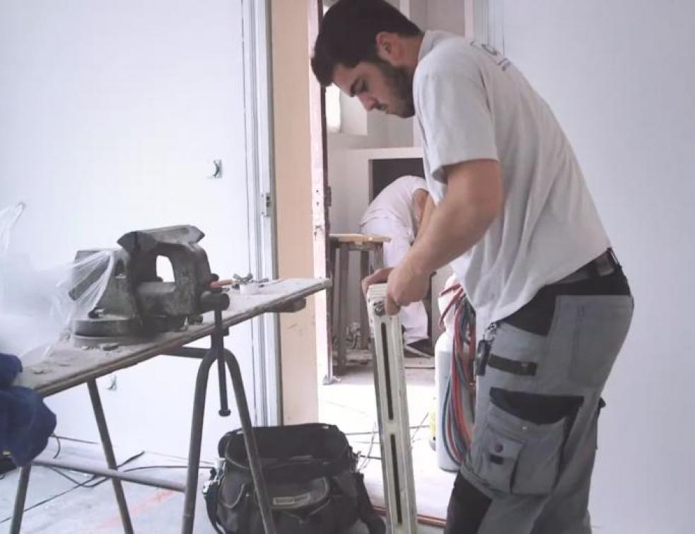 Ma vie d'Apprenti : Vincent sur un nouveau chantier à Bayonne