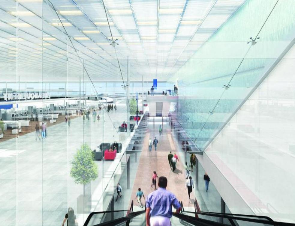 un bâtiment de 80.000 m2 pour créer un  unique terminal à Orly