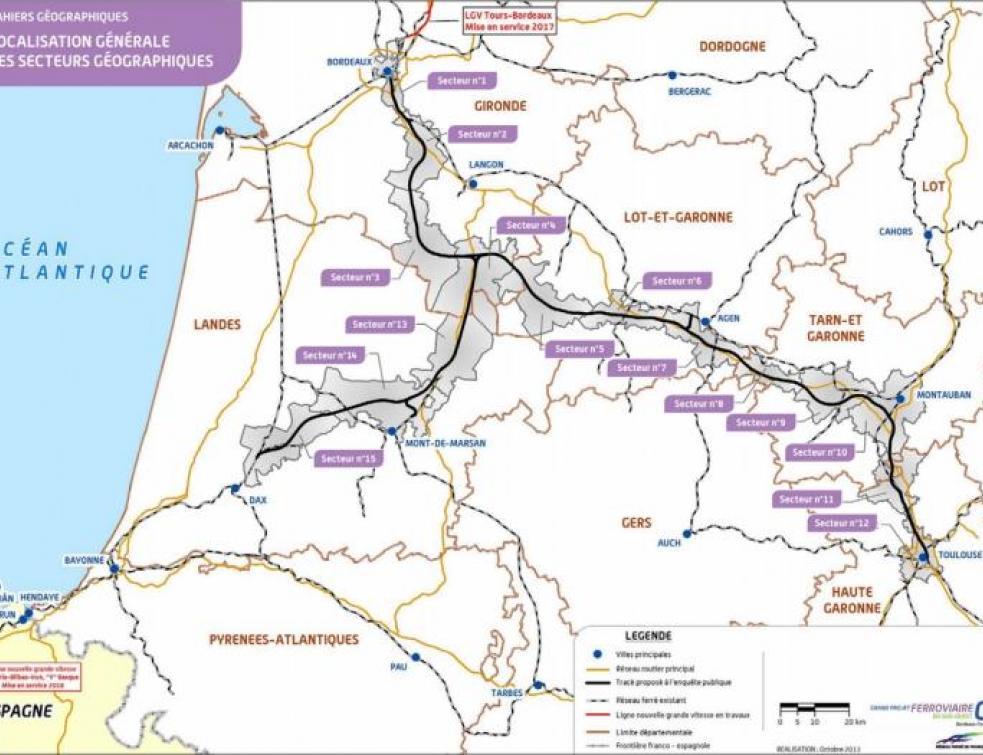 LGV Bordeaux-Toulouse-Dax :