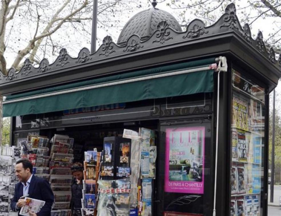 Polémique autour des kiosques parisiens