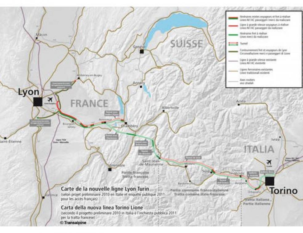 Lyon-Turin : le tunnelier est inauguré en Savoie