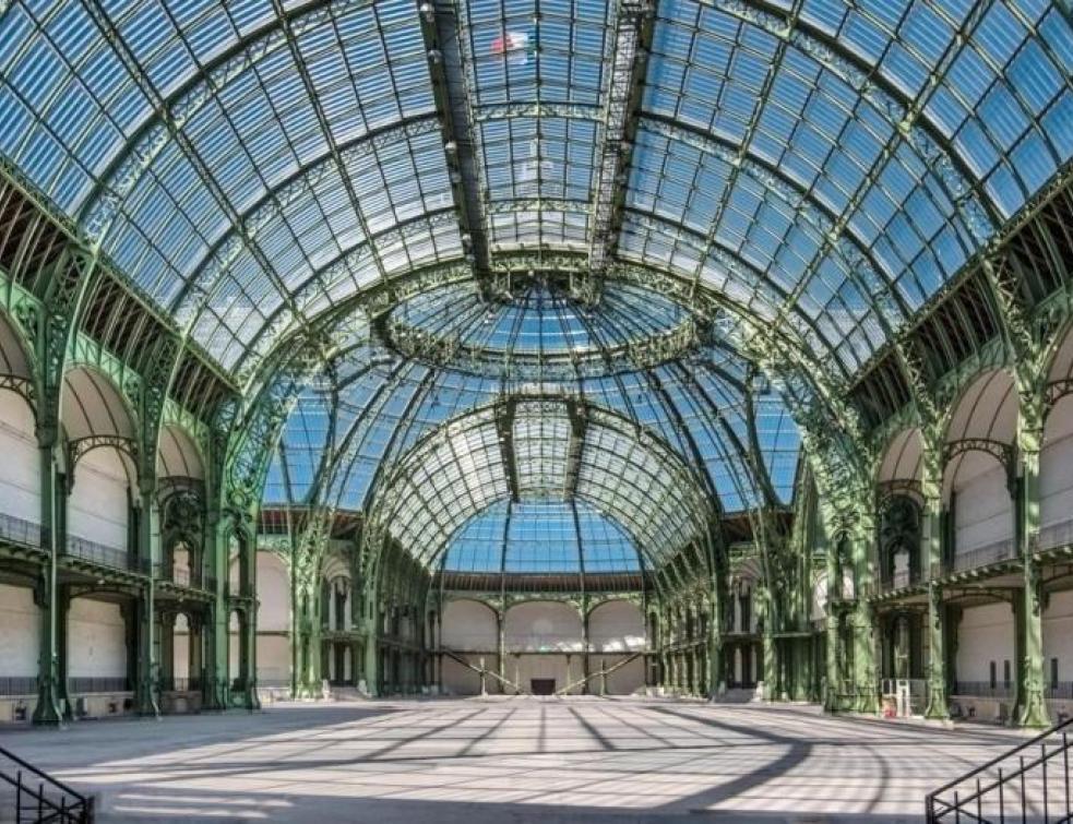 Le Grand Palais en rénovation de 2020 à 2024