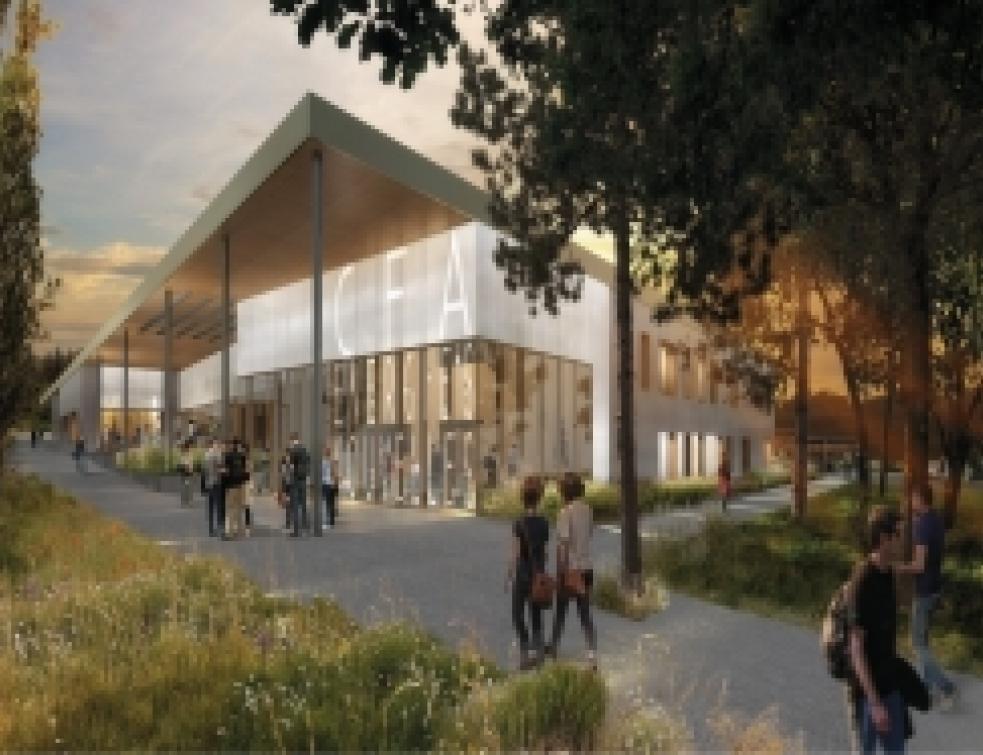 15 000 m² de Biofib Trio sur l'éco-campus de Sainte-Tulle