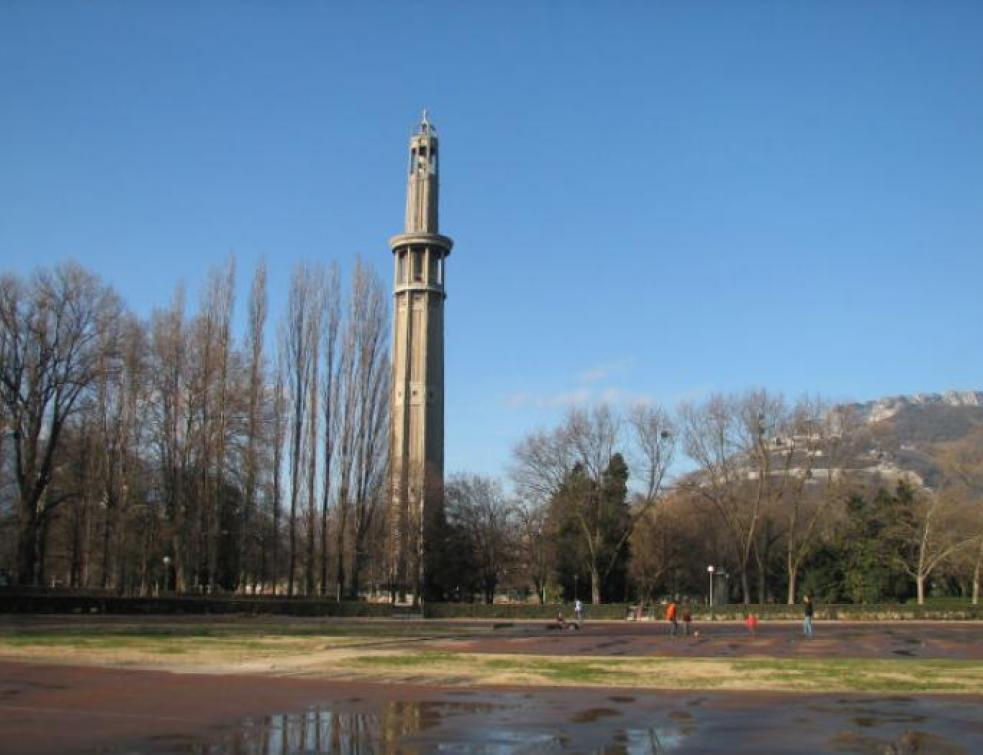 La Tour Perret, patrimoine en béton de Grenoble, va être restaurée
