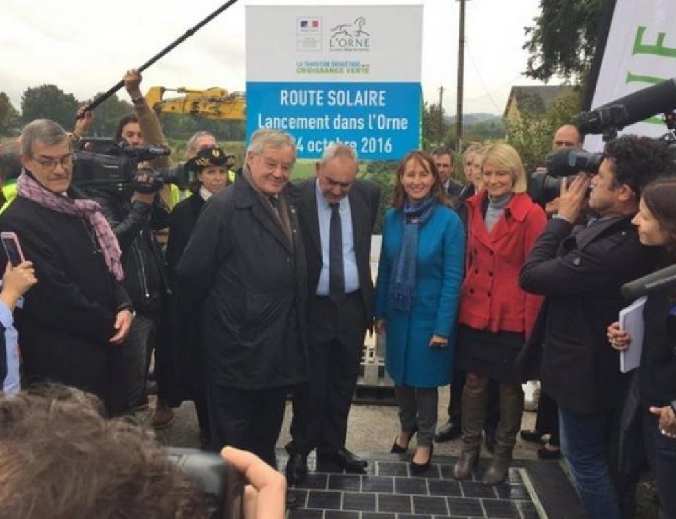 La première route solaire au monde voit le jour en France