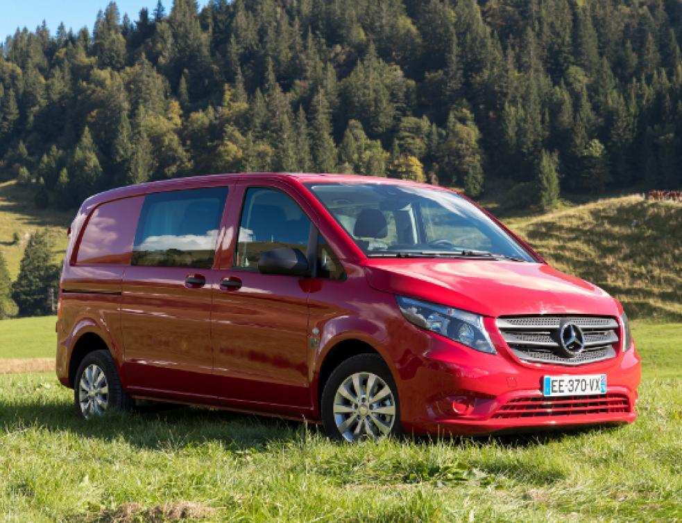 Mercedes : le Vito traction avant… en avant toute !