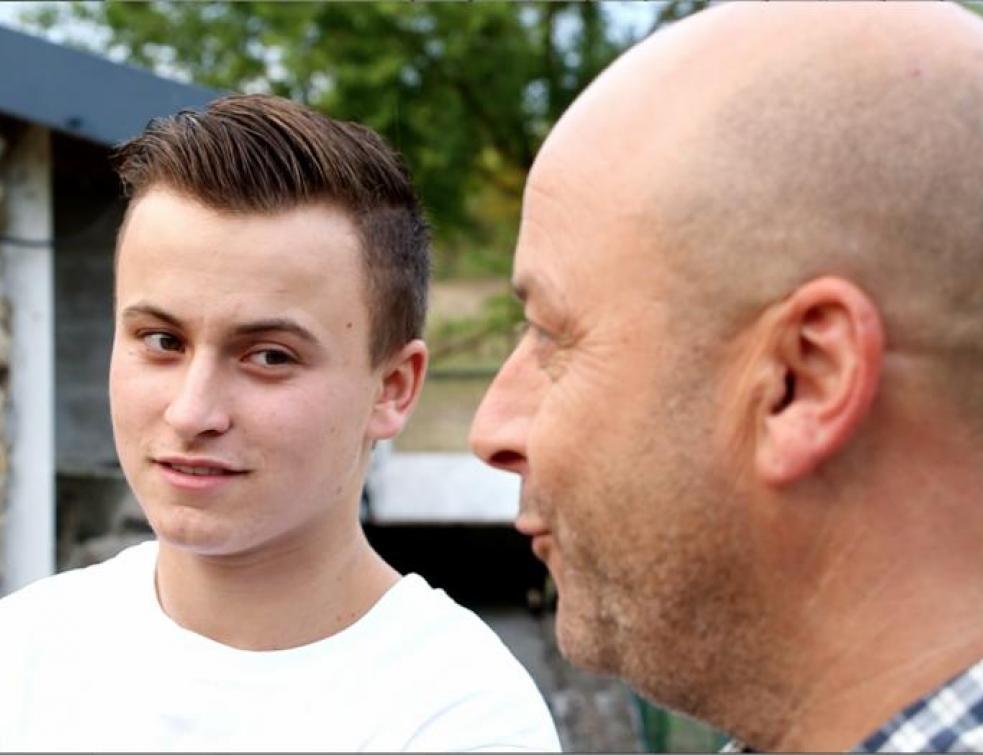 William se prépare à entrer en BP au CFA de Saint-Herblain