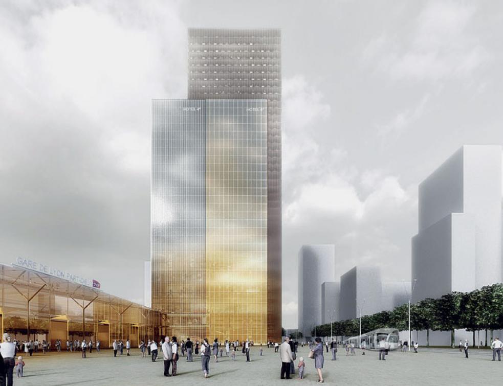Vinci prévoit de construire une nouvelle tour à Lyon Part-Dieu