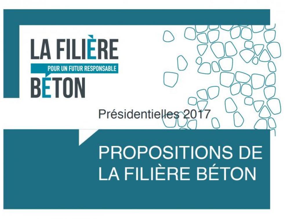«La Filière Béton» s'adresse aux candidats de la présidentielle
