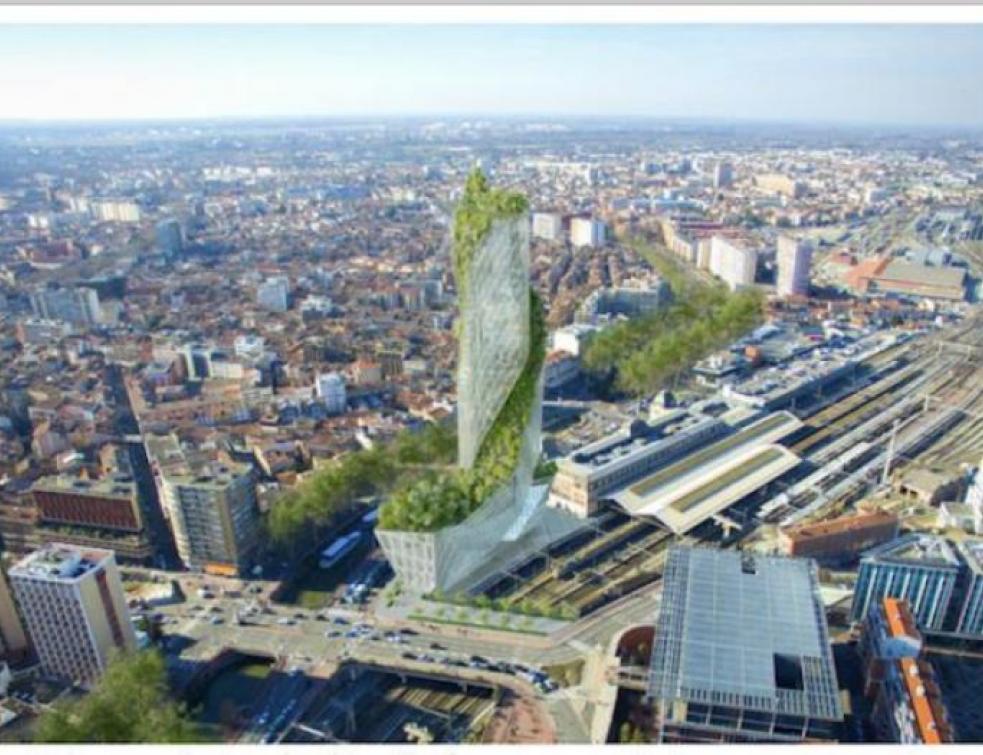 Daniel Libeskind construira la tour végétalisée à Toulouse