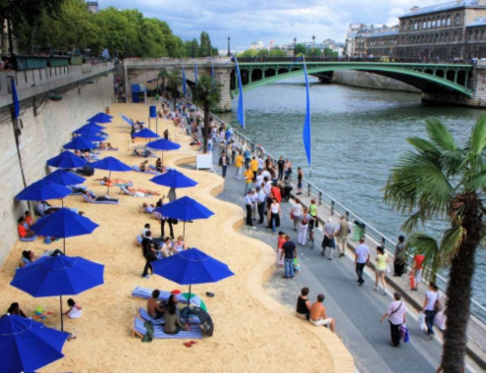 Pas de sable Lafarge pour Paris Plages