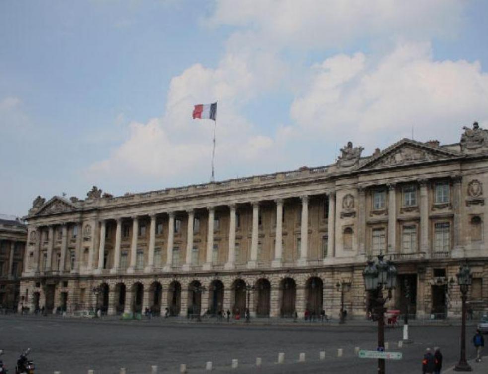 L'Hôtel de la Marine en rénovation jusqu'en 2019