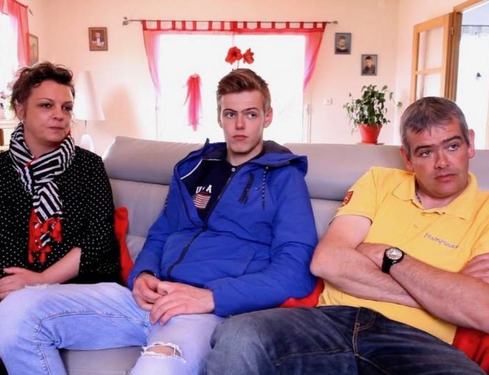 Ma vie d'apprenti : Allan en famille en Normandie