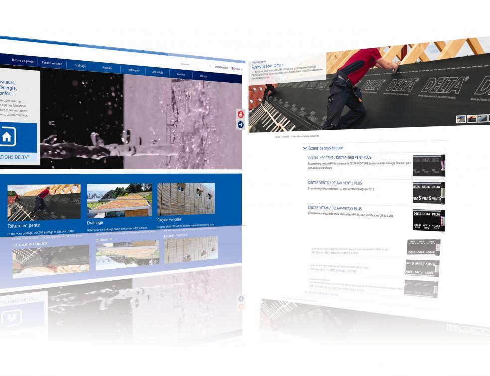 Un nouveau site internet pour les écrans DELTA