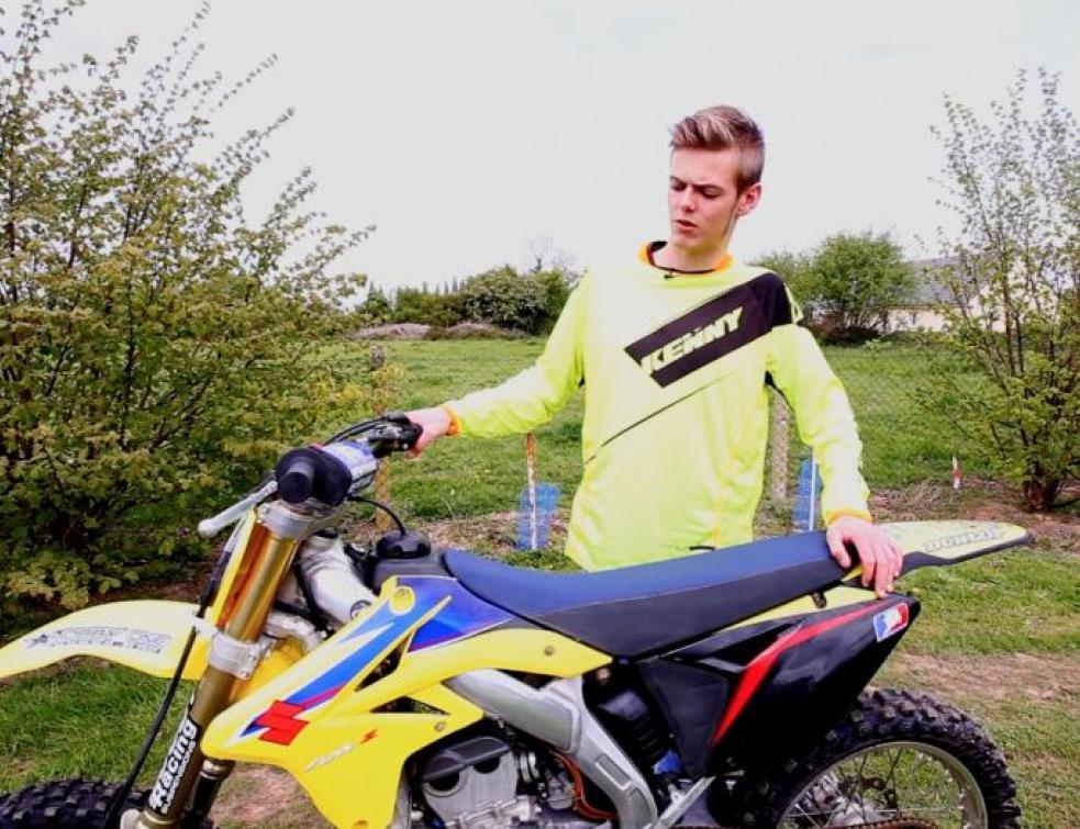 Ma vie d'apprenti : Allan et sa passion pour le Motocross