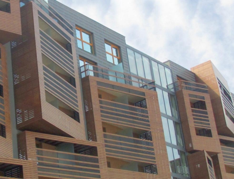 Acodi – Panneau HPL : Fundermax Max Exterior sublime les façades