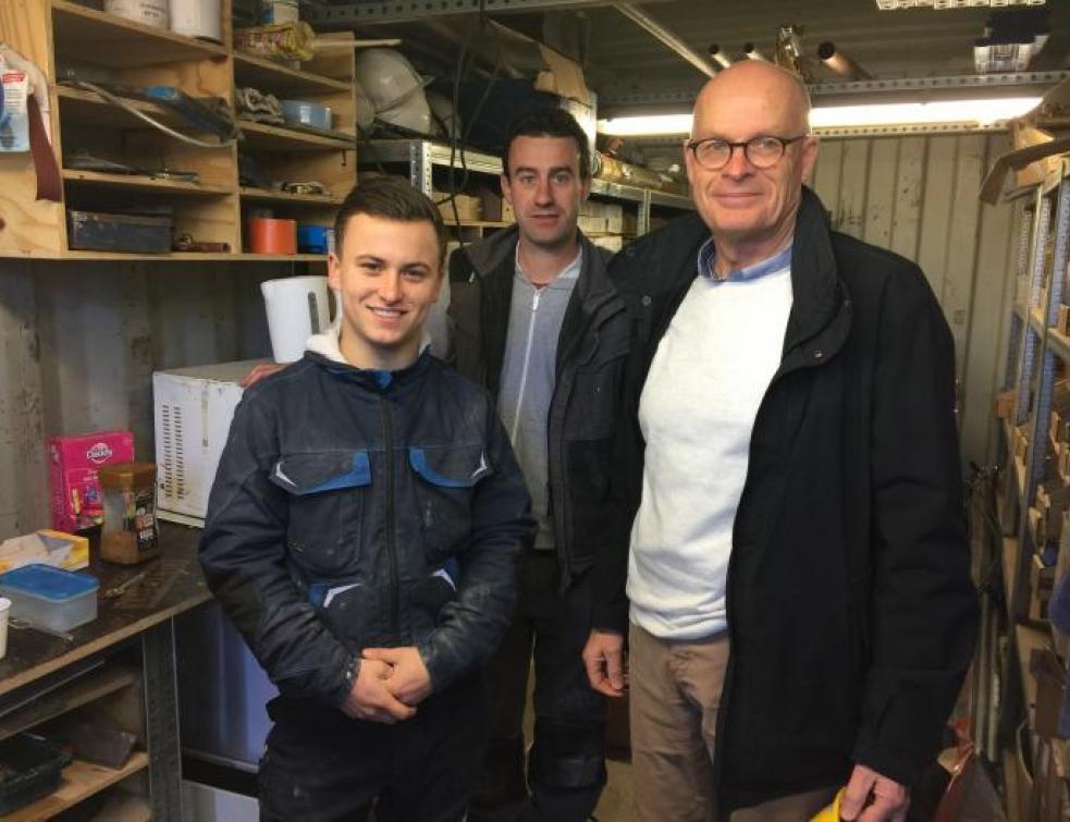 Ma vie d'apprenti : William reçoit la visite de Jacky Crusson