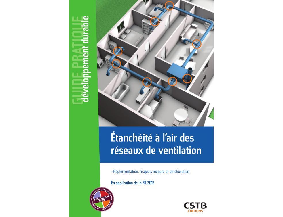 Nouveau livre sur l'étanchéité à l'air des réseaux de ventilation