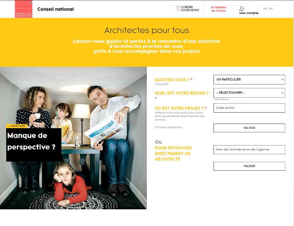 La plateforme gratuite Architectes pour tous veut monter en puissance
