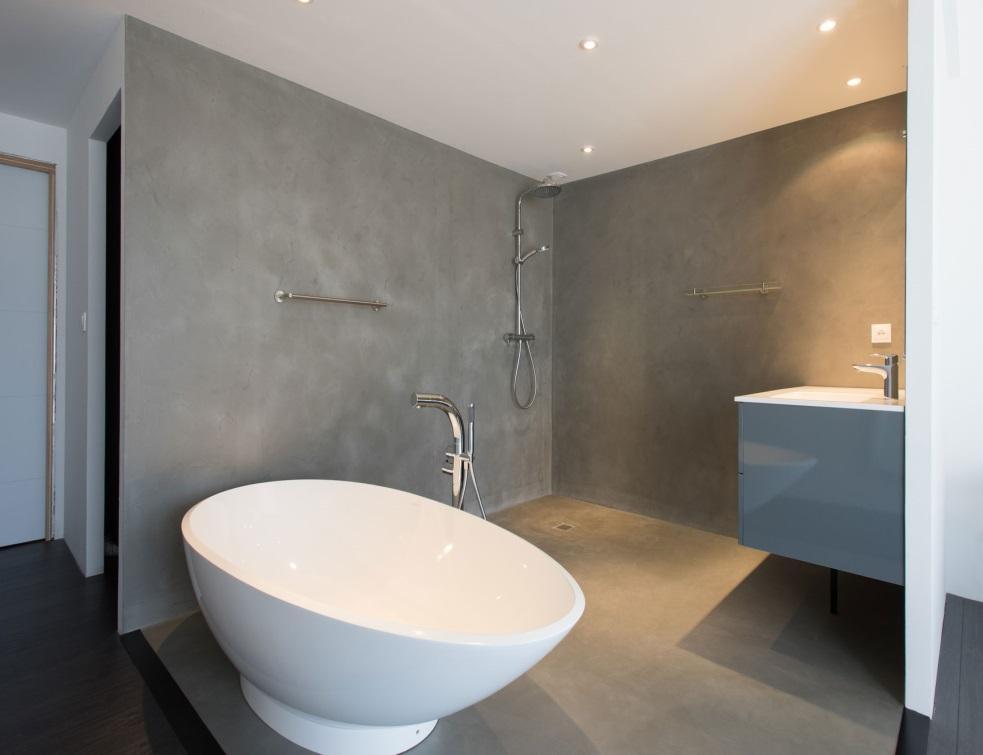 enduit en microb ton pour rev tements effet b ton cir. Black Bedroom Furniture Sets. Home Design Ideas