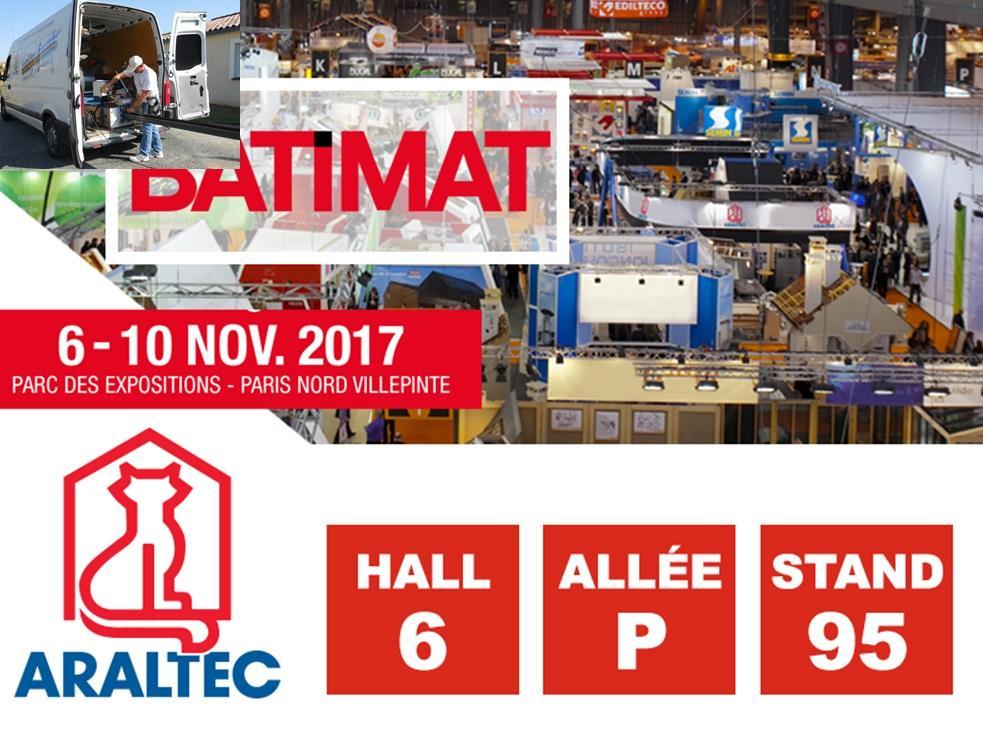 ARALTEC expose à Batimat