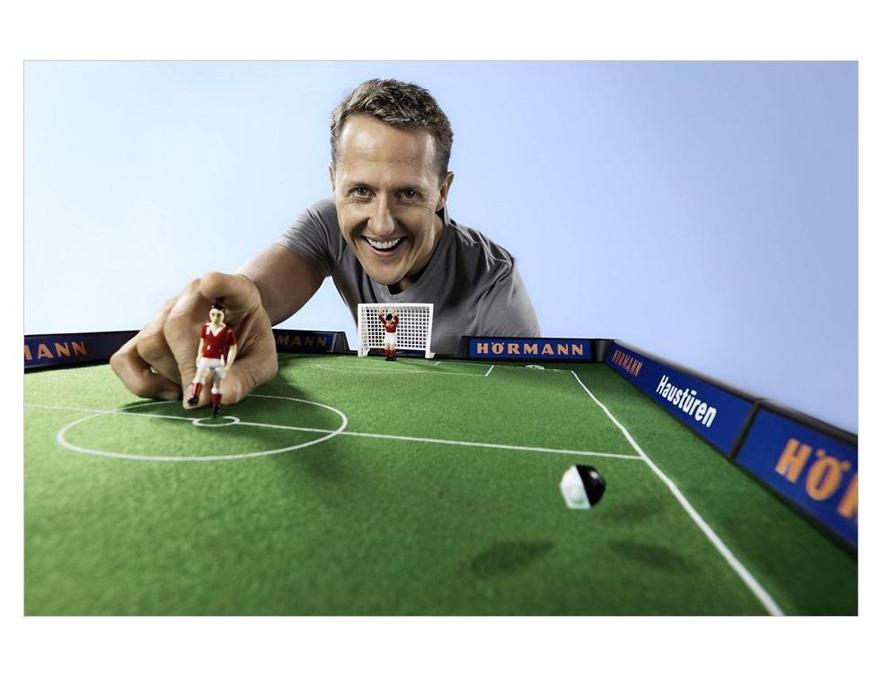 Michael Schumacher, Ambassadeur de la marque Hörmann !