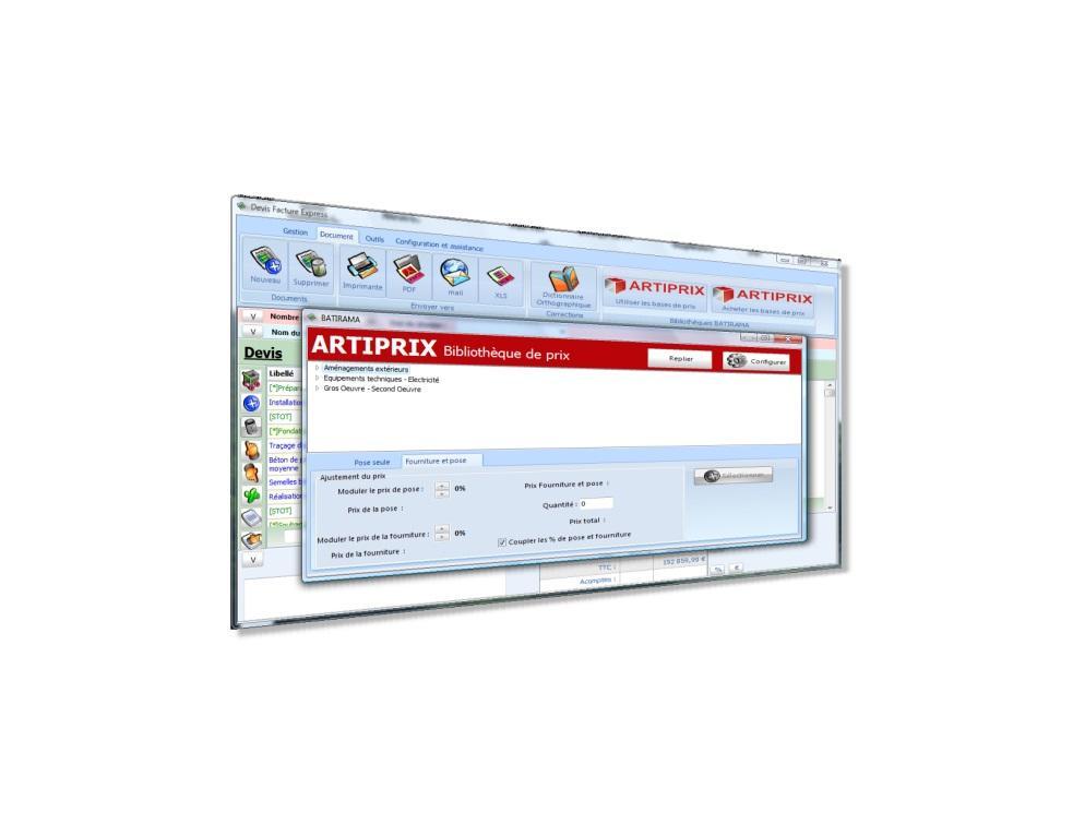 Devis Facture Express, logiciel simple et puissant pour les Artisans du Bâtiment.