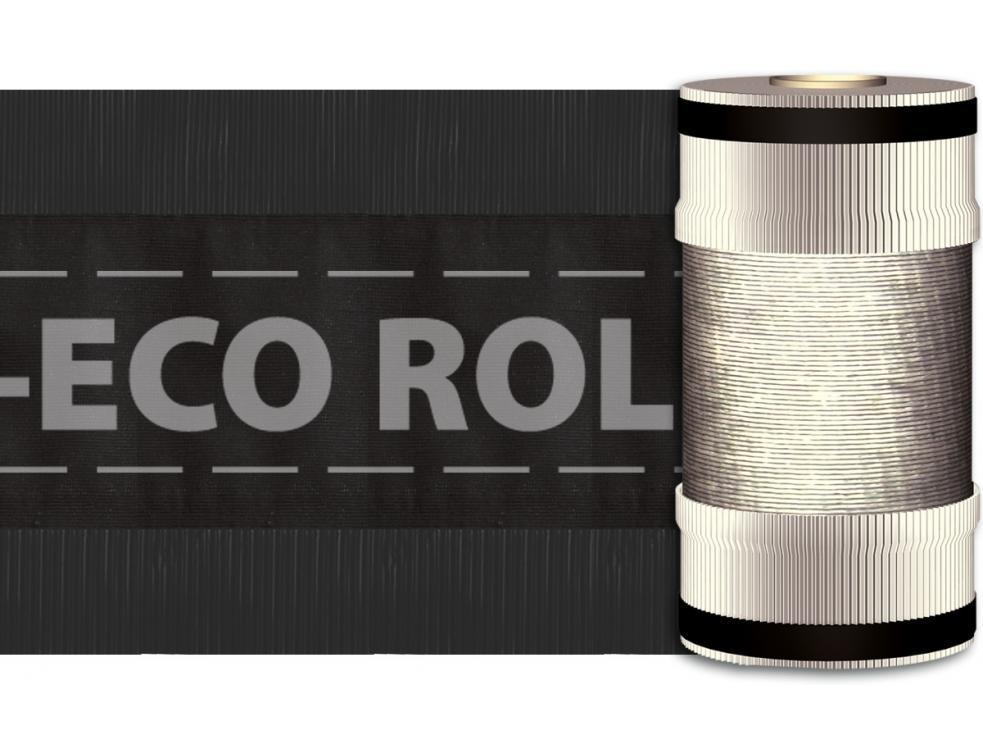 DELTA-ECO ROLL closoir économique perméable à l'air pour faîtages et arêtiers.