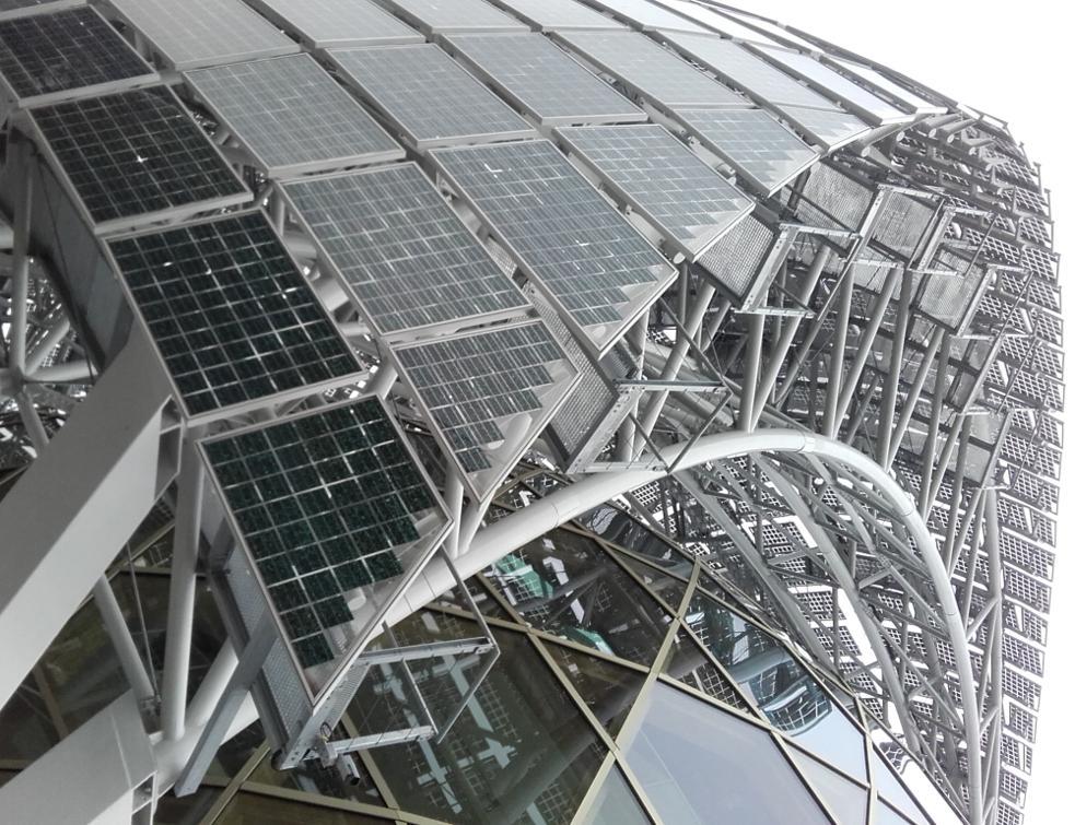 Un voile mobile photovoltaïque sur La Seine Musicale