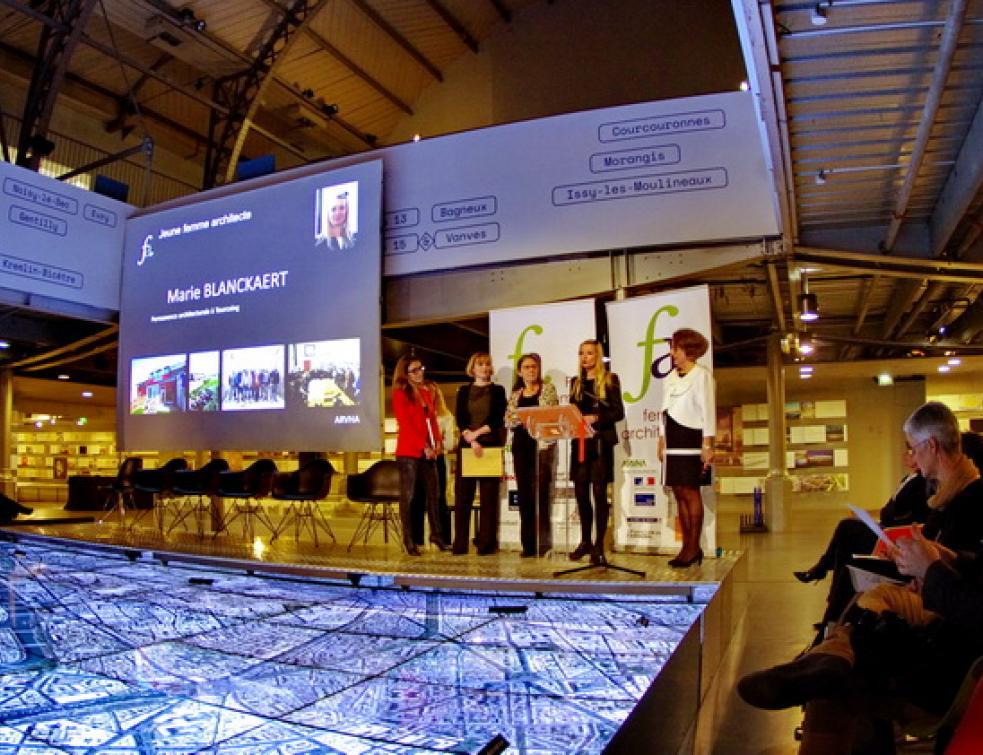 Huit Femmes Architectes de l'année 2017 récompensées