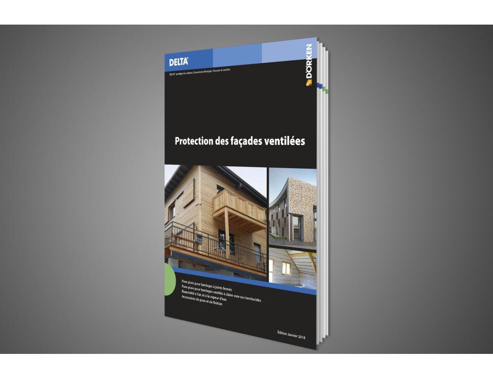 Nouveau Guide technique DELTA Façades ventilées et construction à ossature bois