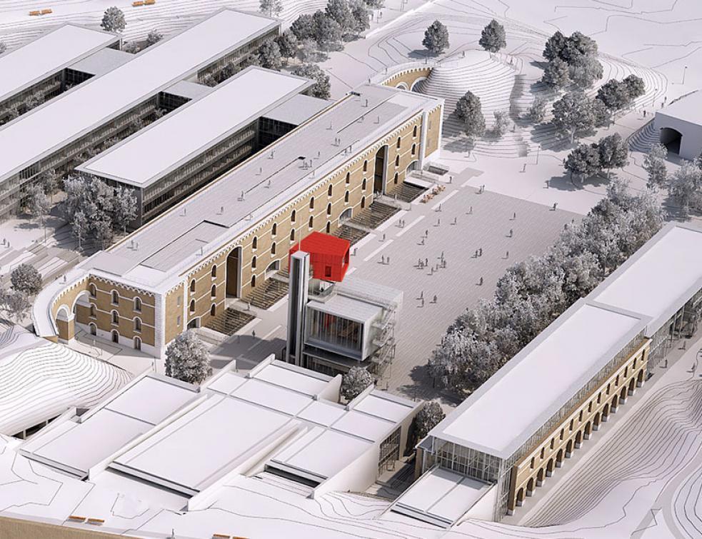 La nouvelle université dans la citadelle d'Amiens ouvrira en 2018