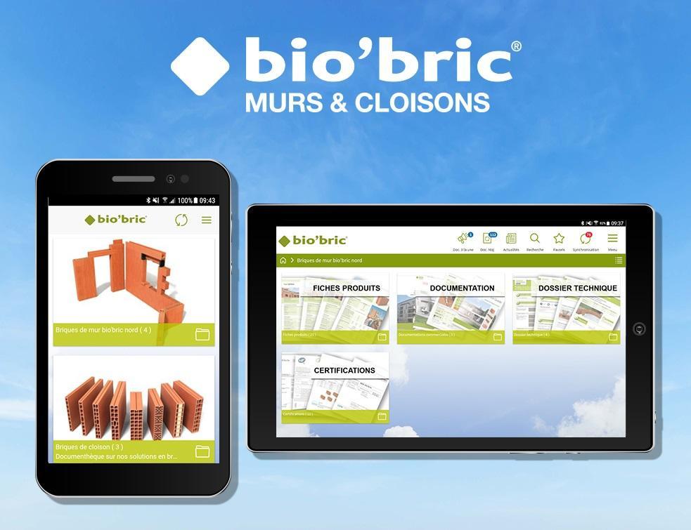 L'application bio'bric : un nouveau service digital