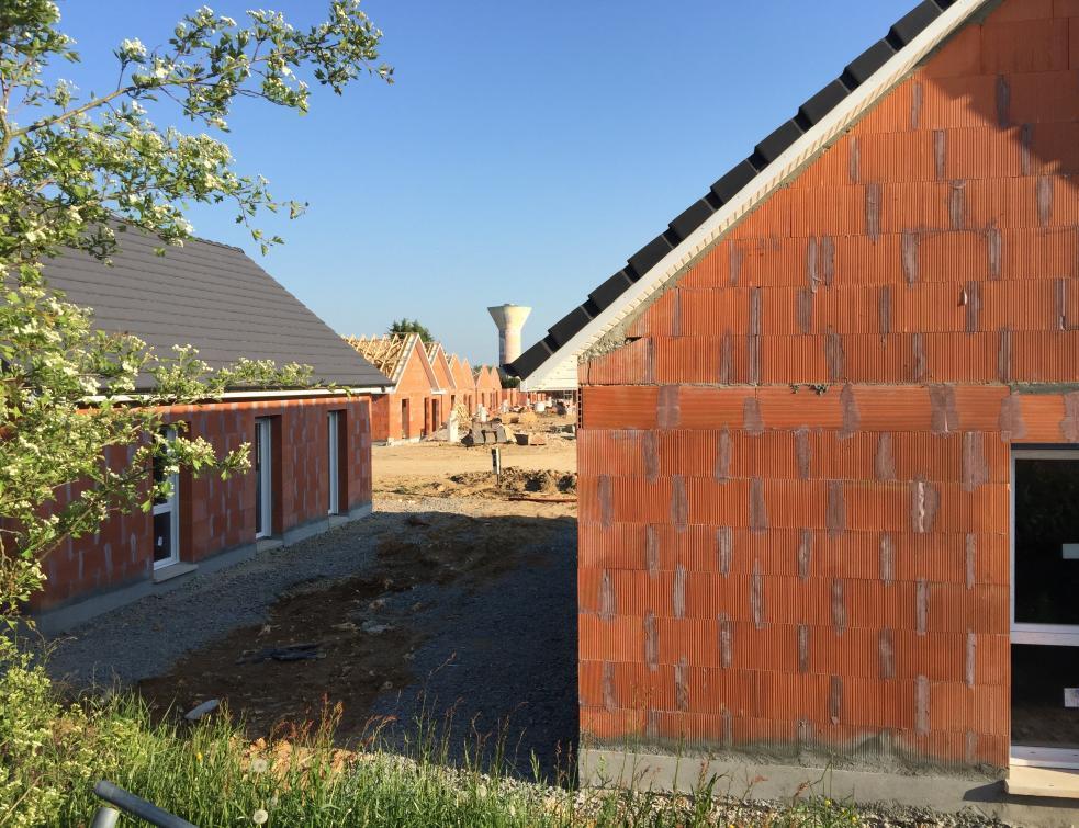 Recul des logements neufs construits de février à avril