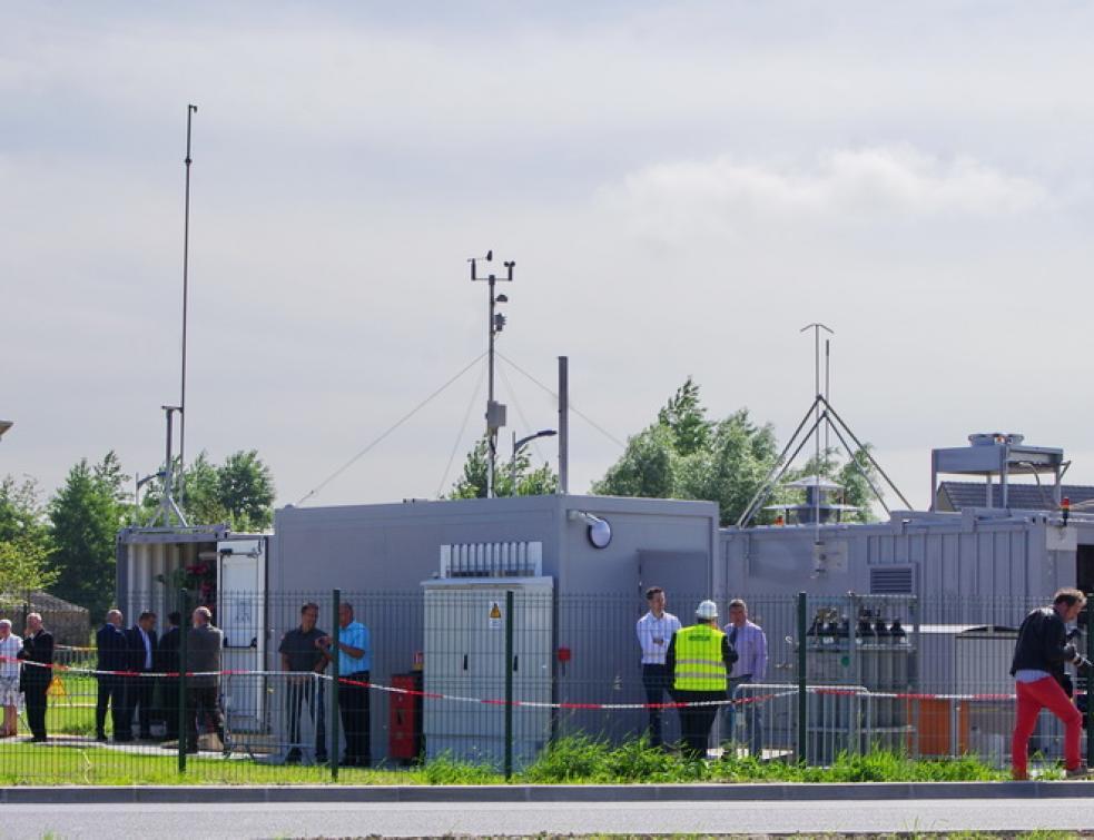 Hydrogène : Premier démonstrateur Power-to-Gas en France