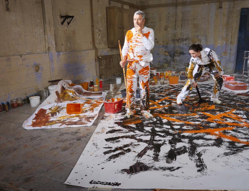 Quand Philippe Starck se « penche » sur les sols de Forbo