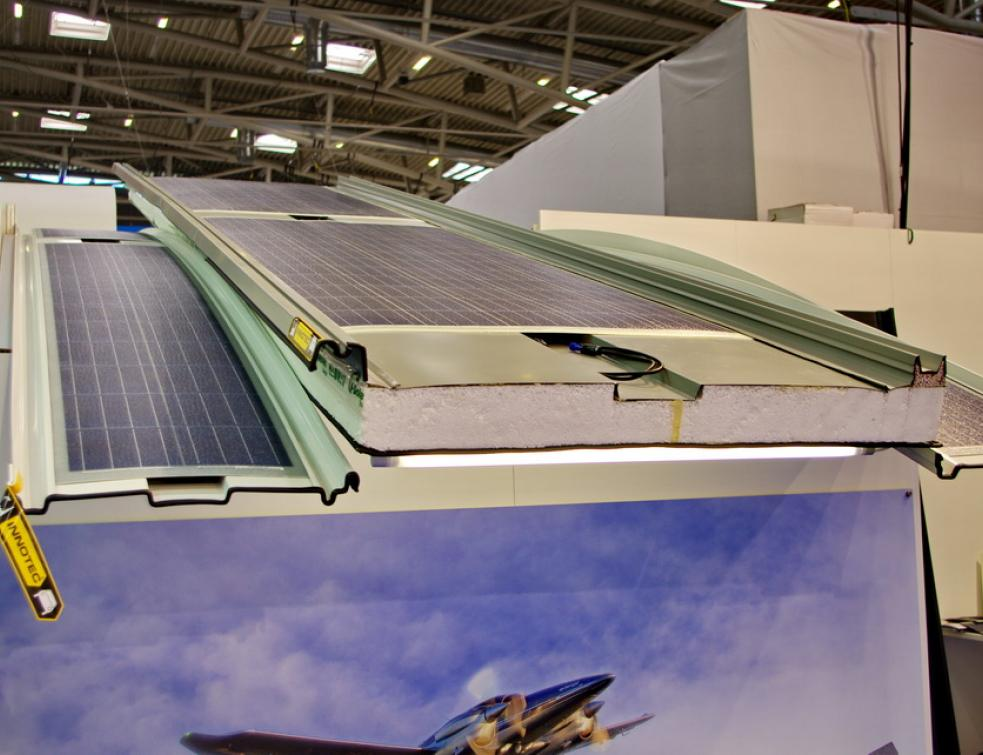 Les applications du photovoltaïque souple en bâtiments à Intersolar 2018