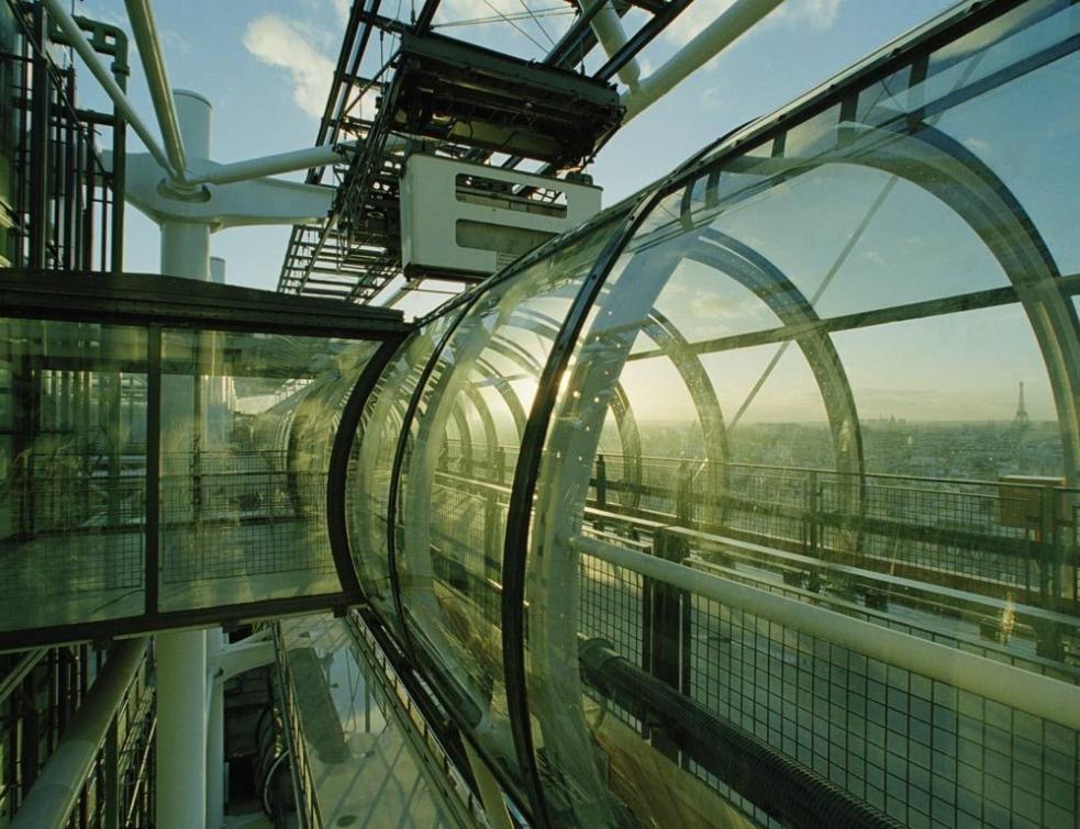 La chenille du Centre Pompidou va faire sa mue